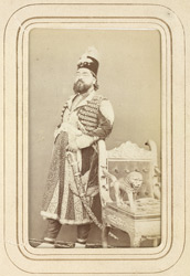 RAMPUR: Sir Kalb Ali Khan, Nawab of Rampur (1832-1887).